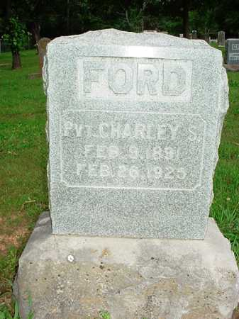FORD (VETERAN), CHARLEY S. - Benton County, Arkansas | CHARLEY S. FORD (VETERAN) - Arkansas Gravestone Photos