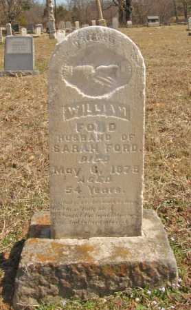 FORD, WILLIAM - Benton County, Arkansas | WILLIAM FORD - Arkansas Gravestone Photos