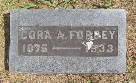 FORGEY, CORA ANNIS - Benton County, Arkansas | CORA ANNIS FORGEY - Arkansas Gravestone Photos
