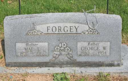 FORGEY, GEORGE W. - Benton County, Arkansas | GEORGE W. FORGEY - Arkansas Gravestone Photos