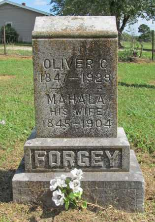 FORGEY, OLIVER C. - Benton County, Arkansas | OLIVER C. FORGEY - Arkansas Gravestone Photos