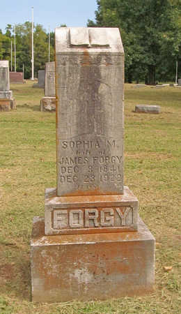 FORGY, SOPHIA MARGARET - Benton County, Arkansas | SOPHIA MARGARET FORGY - Arkansas Gravestone Photos
