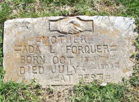 FORQUER, ADA L. - Benton County, Arkansas | ADA L. FORQUER - Arkansas Gravestone Photos