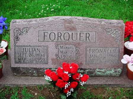 FORQUER, JULIAN - Benton County, Arkansas | JULIAN FORQUER - Arkansas Gravestone Photos