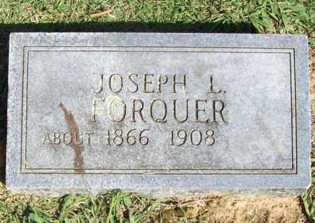 FORQUER, JOSEPH L. - Benton County, Arkansas | JOSEPH L. FORQUER - Arkansas Gravestone Photos