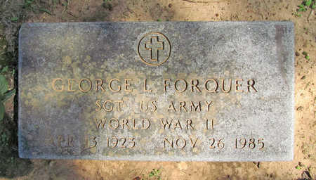 FORQUER (VETERAN WWII), GEORGE L - Benton County, Arkansas | GEORGE L FORQUER (VETERAN WWII) - Arkansas Gravestone Photos