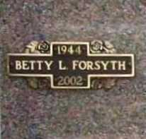 BAUER FORSYTH, BETTY LOU - Benton County, Arkansas | BETTY LOU BAUER FORSYTH - Arkansas Gravestone Photos