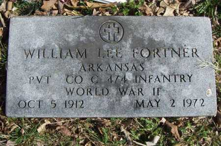 FORTNER (VETERAN WWII), WILLIAM LEE - Benton County, Arkansas | WILLIAM LEE FORTNER (VETERAN WWII) - Arkansas Gravestone Photos