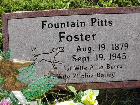 FOSTER, FOUNTAIN PITTS - Benton County, Arkansas | FOUNTAIN PITTS FOSTER - Arkansas Gravestone Photos