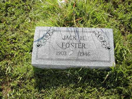 FOSTER, JACK H. - Benton County, Arkansas | JACK H. FOSTER - Arkansas Gravestone Photos