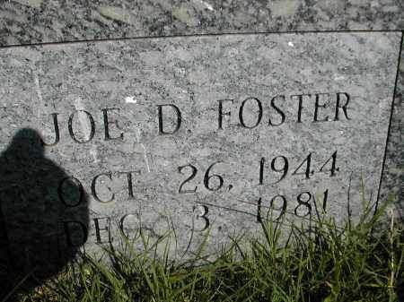 FOSTER, JOE D. - Benton County, Arkansas | JOE D. FOSTER - Arkansas Gravestone Photos