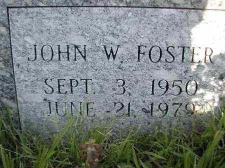 FOSTER, JOHN W. - Benton County, Arkansas   JOHN W. FOSTER - Arkansas Gravestone Photos