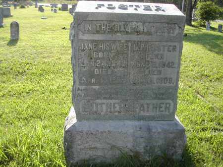 FOSTER, LEWIS PERRY - Benton County, Arkansas | LEWIS PERRY FOSTER - Arkansas Gravestone Photos