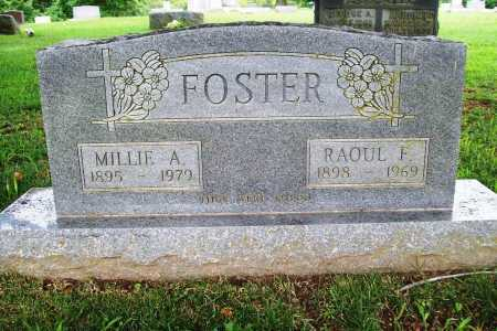 FOSTER, MILLIE A. - Benton County, Arkansas | MILLIE A. FOSTER - Arkansas Gravestone Photos