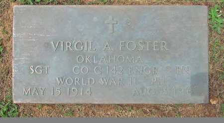 FOSTER (VETERAN WWII), VIRGIL A - Benton County, Arkansas | VIRGIL A FOSTER (VETERAN WWII) - Arkansas Gravestone Photos