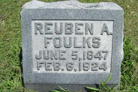 FOULKS, REUBEN A. - Benton County, Arkansas | REUBEN A. FOULKS - Arkansas Gravestone Photos