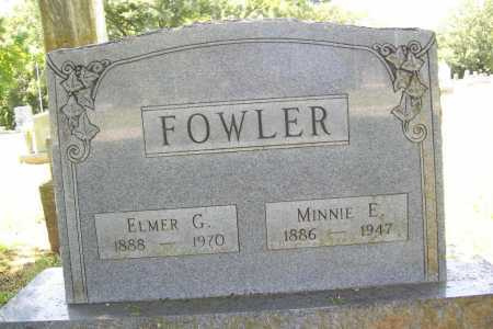 FOWLER, MINNIE E. - Benton County, Arkansas | MINNIE E. FOWLER - Arkansas Gravestone Photos