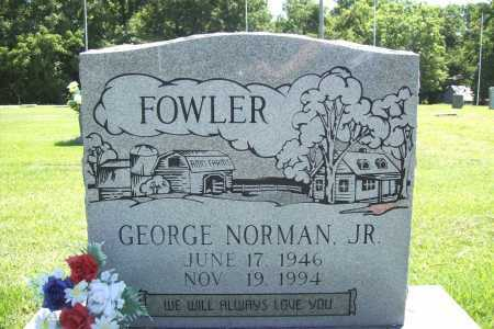FOWLER, GEORGE NORMAN JR. - Benton County, Arkansas | GEORGE NORMAN JR. FOWLER - Arkansas Gravestone Photos