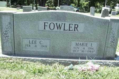 FOWLER, MARIE I. - Benton County, Arkansas   MARIE I. FOWLER - Arkansas Gravestone Photos