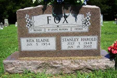 FOX, STANLEY HAROLD - Benton County, Arkansas | STANLEY HAROLD FOX - Arkansas Gravestone Photos
