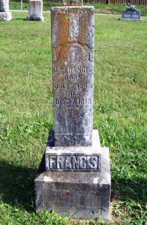 FRANCIS, J. R. - Benton County, Arkansas | J. R. FRANCIS - Arkansas Gravestone Photos