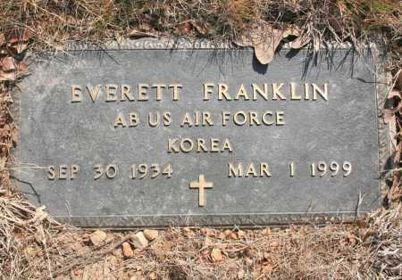 FRANKLIN (VETERAN KOR), EVERETT E - Benton County, Arkansas | EVERETT E FRANKLIN (VETERAN KOR) - Arkansas Gravestone Photos