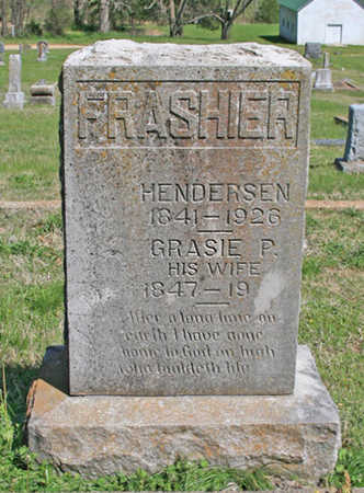 FRASHIER, WILLIAM HENDERSEN - Benton County, Arkansas | WILLIAM HENDERSEN FRASHIER - Arkansas Gravestone Photos