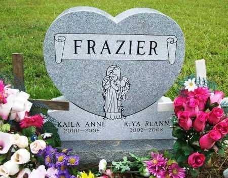 FRAZIER, KAILA ANN - Benton County, Arkansas | KAILA ANN FRAZIER - Arkansas Gravestone Photos
