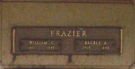 FRAZIER, ERCELL A. - Benton County, Arkansas | ERCELL A. FRAZIER - Arkansas Gravestone Photos