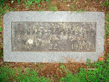 FREEMAN, FRANK T. - Benton County, Arkansas | FRANK T. FREEMAN - Arkansas Gravestone Photos