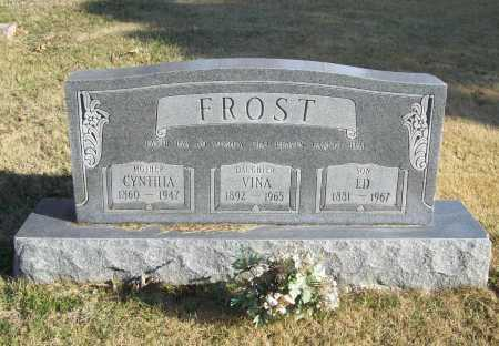 FROST, CYNTHIA - Benton County, Arkansas | CYNTHIA FROST - Arkansas Gravestone Photos