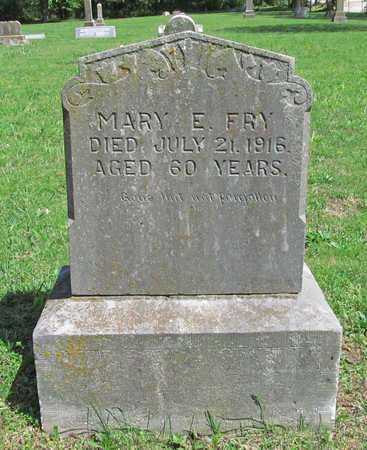 FRY, MARY ELIZABETH - Benton County, Arkansas | MARY ELIZABETH FRY - Arkansas Gravestone Photos
