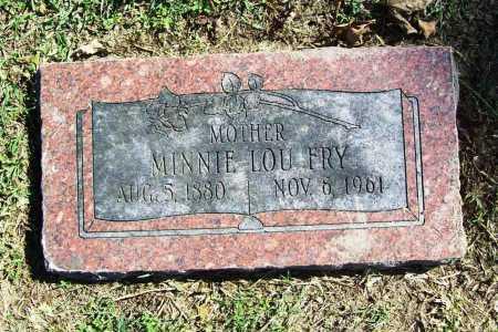 FRY, MINNIE LOU - Benton County, Arkansas | MINNIE LOU FRY - Arkansas Gravestone Photos