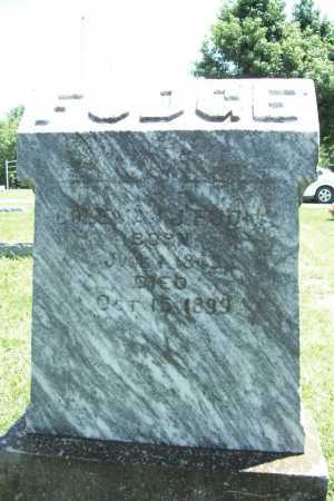 FUDGE, COLEMAN J. - Benton County, Arkansas | COLEMAN J. FUDGE - Arkansas Gravestone Photos