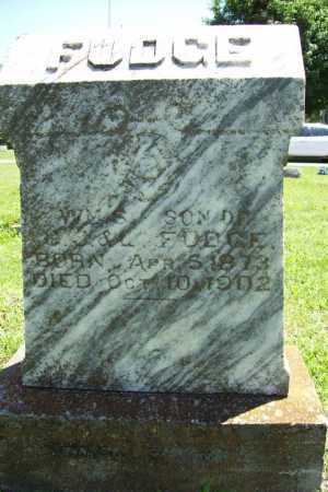 FUDGE, WILLIAM S. - Benton County, Arkansas | WILLIAM S. FUDGE - Arkansas Gravestone Photos