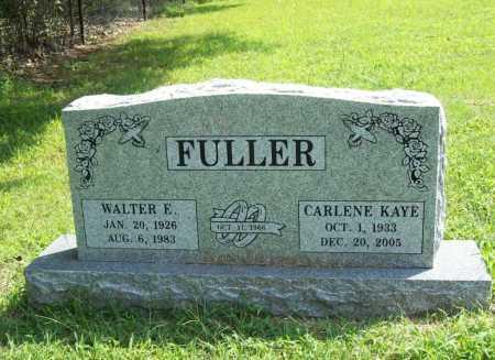 FULLER, WALTER E. - Benton County, Arkansas | WALTER E. FULLER - Arkansas Gravestone Photos