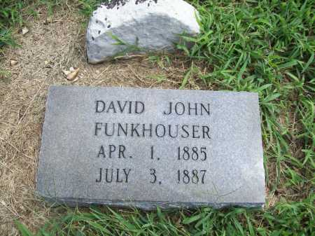 FUNKHOUSER, DAVID JOHN - Benton County, Arkansas | DAVID JOHN FUNKHOUSER - Arkansas Gravestone Photos
