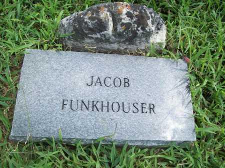 FUNKHOUSER, JACOB - Benton County, Arkansas | JACOB FUNKHOUSER - Arkansas Gravestone Photos