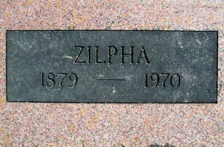 FUQUA, ZILPHA (CLOSEUP) - Benton County, Arkansas | ZILPHA (CLOSEUP) FUQUA - Arkansas Gravestone Photos