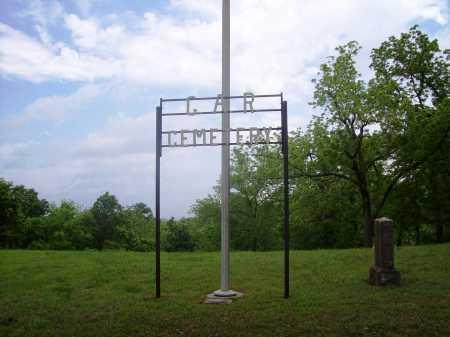 *G A R CEMETERY SIGN,  - Benton County, Arkansas |  *G A R CEMETERY SIGN - Arkansas Gravestone Photos