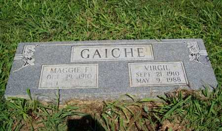 GAICHE, VIRGIL - Benton County, Arkansas | VIRGIL GAICHE - Arkansas Gravestone Photos