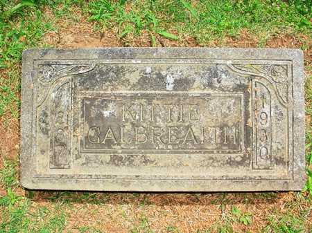 GALBREAITH, KITTIE - Benton County, Arkansas | KITTIE GALBREAITH - Arkansas Gravestone Photos