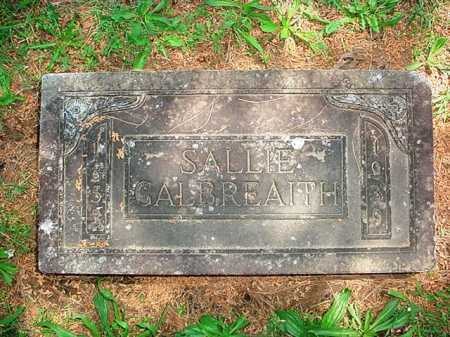 GALBREAITH, SALLIE - Benton County, Arkansas | SALLIE GALBREAITH - Arkansas Gravestone Photos