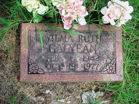 GALYEAN, WILMA RUTH - Benton County, Arkansas | WILMA RUTH GALYEAN - Arkansas Gravestone Photos