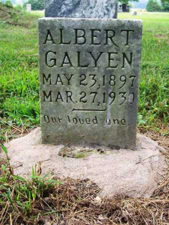 GALYEN, ALBERT - Benton County, Arkansas | ALBERT GALYEN - Arkansas Gravestone Photos