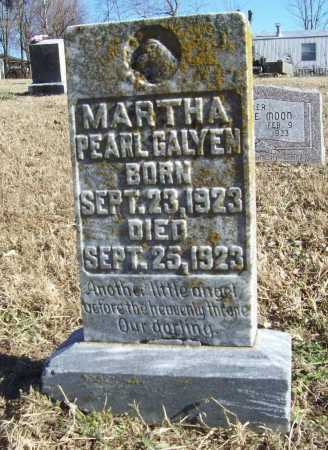 GALYEN, MARTHA PEARL - Benton County, Arkansas | MARTHA PEARL GALYEN - Arkansas Gravestone Photos