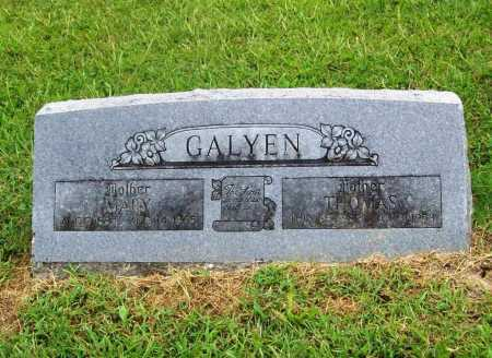 GALYEN, THOMAS - Benton County, Arkansas | THOMAS GALYEN - Arkansas Gravestone Photos
