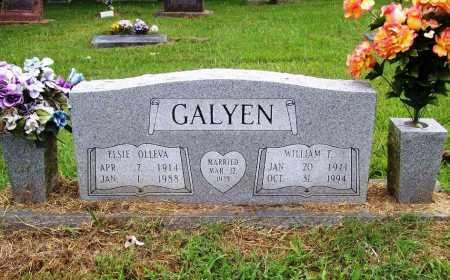 GALYEN, ELSIE OLLEVA - Benton County, Arkansas | ELSIE OLLEVA GALYEN - Arkansas Gravestone Photos