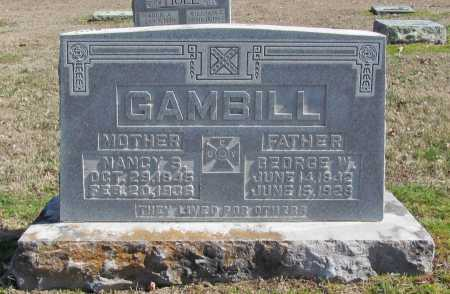 GAMBILL, GEORGE W. - Benton County, Arkansas | GEORGE W. GAMBILL - Arkansas Gravestone Photos