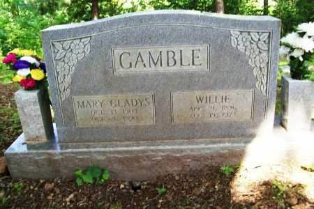 GAMBLE, MARY GLADYS - Benton County, Arkansas | MARY GLADYS GAMBLE - Arkansas Gravestone Photos